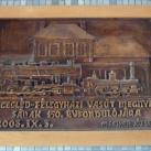 Cegléd-Félegyháza vasútvonal építésének emlékére
