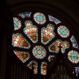 Fasori evangélikus templom üvegablakai 1.