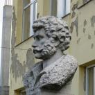 Kisfaludy Károly mellszobra