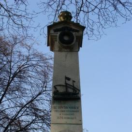 Gályarabok emlékoszlopa