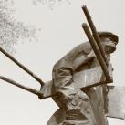 Egry József szobra