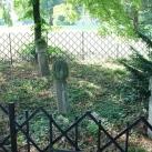 Török temető jelképes sírkövek, térkép