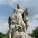 Szent Borbála-szobor