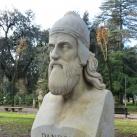 Enrico Dandolo mellszobra