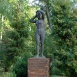 Úszónő-szobor