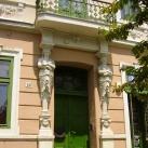 Keller-ház épületdísze