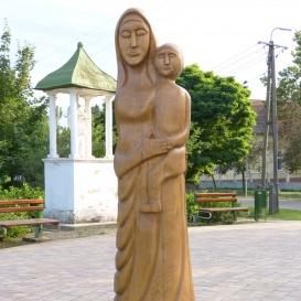 Asszony gyermekével