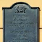 A II. Rákóczi Ferenc 12. honvéd gyalogezred emléktáblája