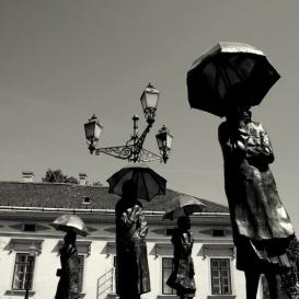 Várakozók szobra