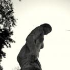 Vízbelépő szobra