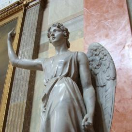 Kerub-szobrok a bazilikában