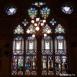 A Nádor terem festett ólomüveg ablaka