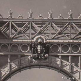 Erzsébet híd Magyarország címere