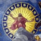 Utolsó ítélet - Fiumei úti sírkert, kupolasir - mozaikkép