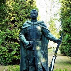 Orosz katona szobra