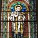 A Páli Szent Vince plébániatemplom szentélyének üvegablakai