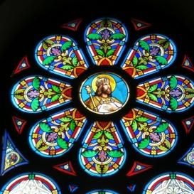 Jézus Szíve-templom üvegablakai