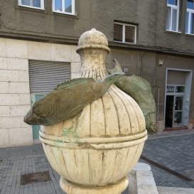 Halas szobor