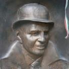 Lemhényi Dezső olimpiai bajnok síremléke