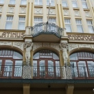 Palatinus Hotel épületszobrok