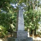 Emlékmű a kolerajárvány áldozatainak emlékére
