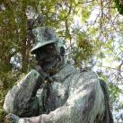 Búsuló hadfi - Gammel Ferenc síremléke