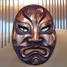 Színházi maszkok