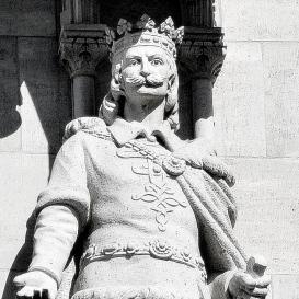 Országház - nyugati homlokzat: III. Béla