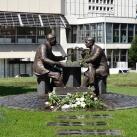 Henryk Slawik és idősebb Antall József