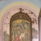 Stációk a fóti templomkertben