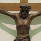 A megfeszített Krisztus anyjával és Szent Jánossal