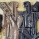 Kerámia relief