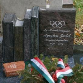 Ágoston Judit síremléke