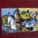 Murália, két színes kompozíció