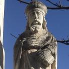 Fogadalmi kereszt Szent Lázár ábrázolással