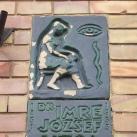 Dr. Imre József utcanévtábla