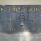 Küzmics Miklós-emléktábla