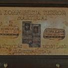 """A """"Kommunista terror"""" áldozatainak emléktáblája"""