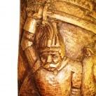 Thúry György fa domborműve