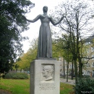 Wilhelmina Drucker-emlékmű