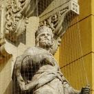A fóti Szeplőtelen fogantatás templom királyszobrai