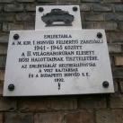 Magyar Királyi 1. Honvéd Felderítő Zászlóalj emléktáblája