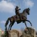 Szent László lovasszobra