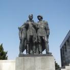Szovjet hősi emlékmű-szoborcsoport (1.)
