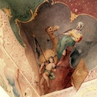 Forgách Ludmilla grófnő öltözőszobájának falképei