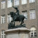 Sárkányölő Szent György-szobor
