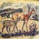 Hét állatfigurás mozaikkép