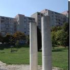 Gazdagréti későrómai kori temető emlékműve