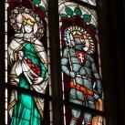 Szent István kápolna üvegablakai