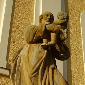 Szent József és a gyermek Jézus